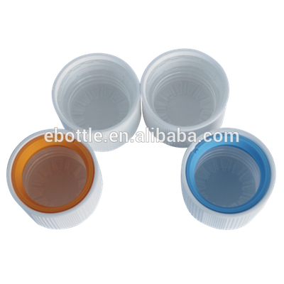 28MM (28/410) Two colors CRC CHILD RESISTANT Tamper evident CAPS for Medical Bottle