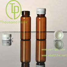 TP-2-07-2 10ml brown Bayonet essential oil bottles with white tearing cap