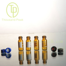 TP-1-20 1.5ml clear glass vials with aluminum cover