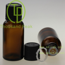 New Style 15ml Green Aromatherapy bottle Orifice Reducers tamper evident caps CRC
