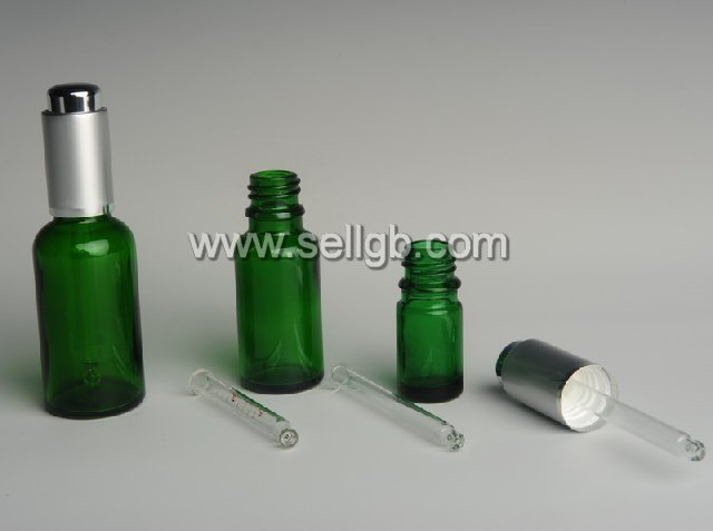 50ml aluminum dropper bottle for essential oil packaging