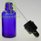 Hot Sale 20ml clear Aromatherapy bottle Black droppers 100% no Leakage