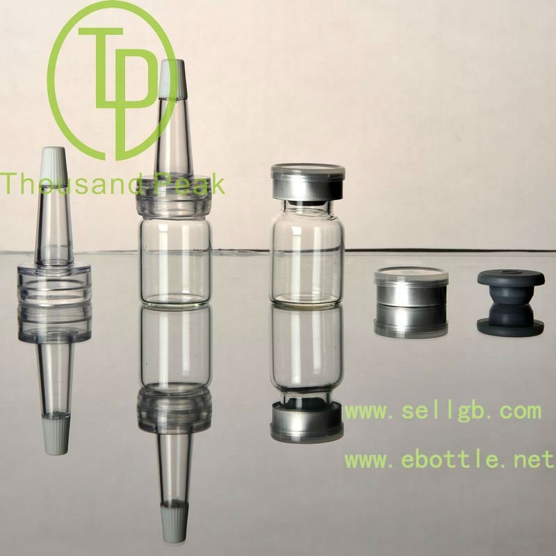 TP-2-03-2 5ml clear Bayonet glass bottle with cosmetic packaging