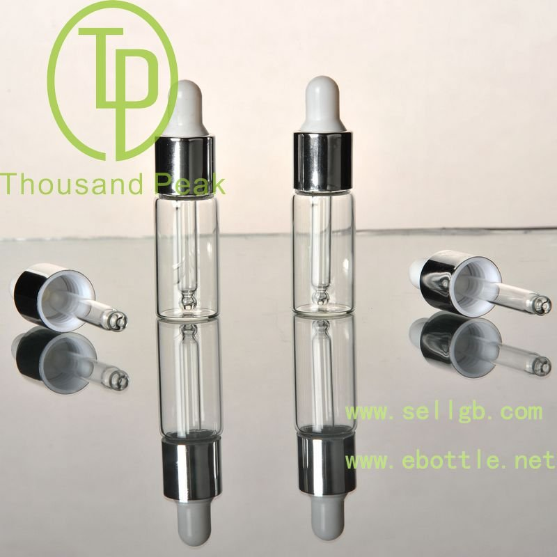 3ml Clear clip glass ampoule serum bottles
