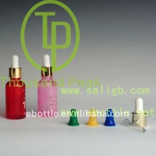 TP-2-34 30ml colorful cosmetic glass bottles with dropper