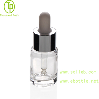 TP-2-170 10ml thick cosmetic glass dropper bottle 20-410