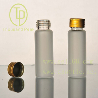 TP-4--04 25ml clear frosting explosion proof mouth with aluminum