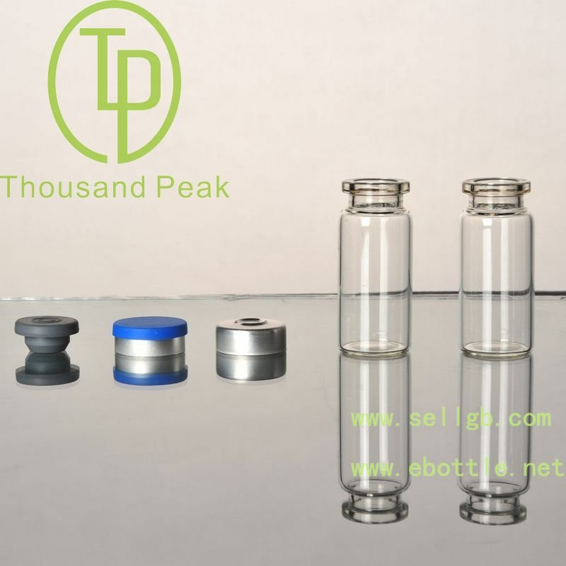 clear/amber pharmaceutical tubular glass vials Type I for injection,antibiotics,power,lyophilization