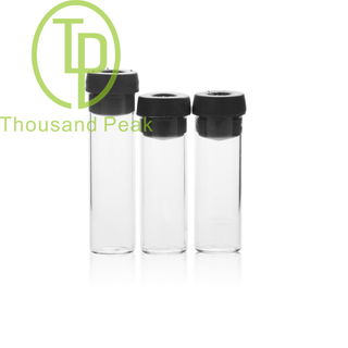 TP-1-14 3ml Clear glass vials with butyl rubber stopper