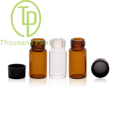 TP-1-05 3ml clear glass vials with cap