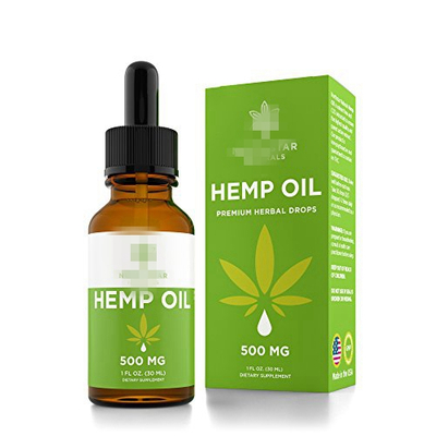 TP-2-23 Empty Cannabis & CBD Oil Tincture Bottles