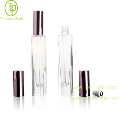 TP-3-30 10ml Square Thick Bottom Roll on perfume bottles