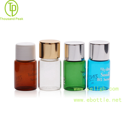 TP-2-140 0.5ml 1ml 2ml 3ml cosmetic packaging vials with Nice finishing cap