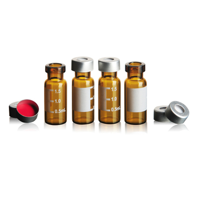 TP-1-21 1.5ml brown glass vials with aluminum cover